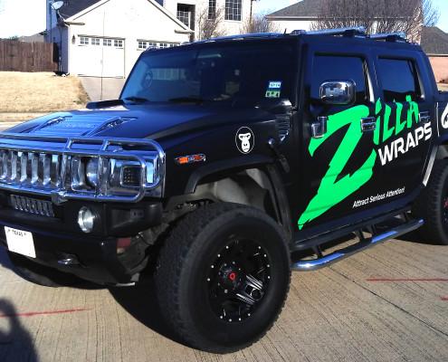 Hummer Wraps DFW
