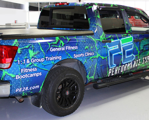 Performance Experience Truck Wrap