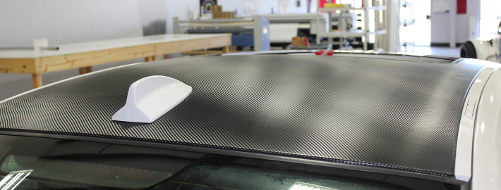 carbon roof