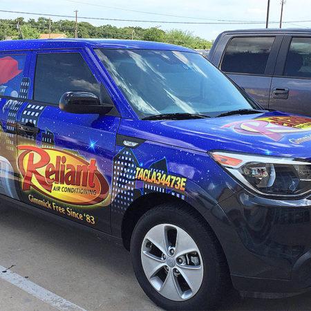 Car Wraps Fort Worth Dallas