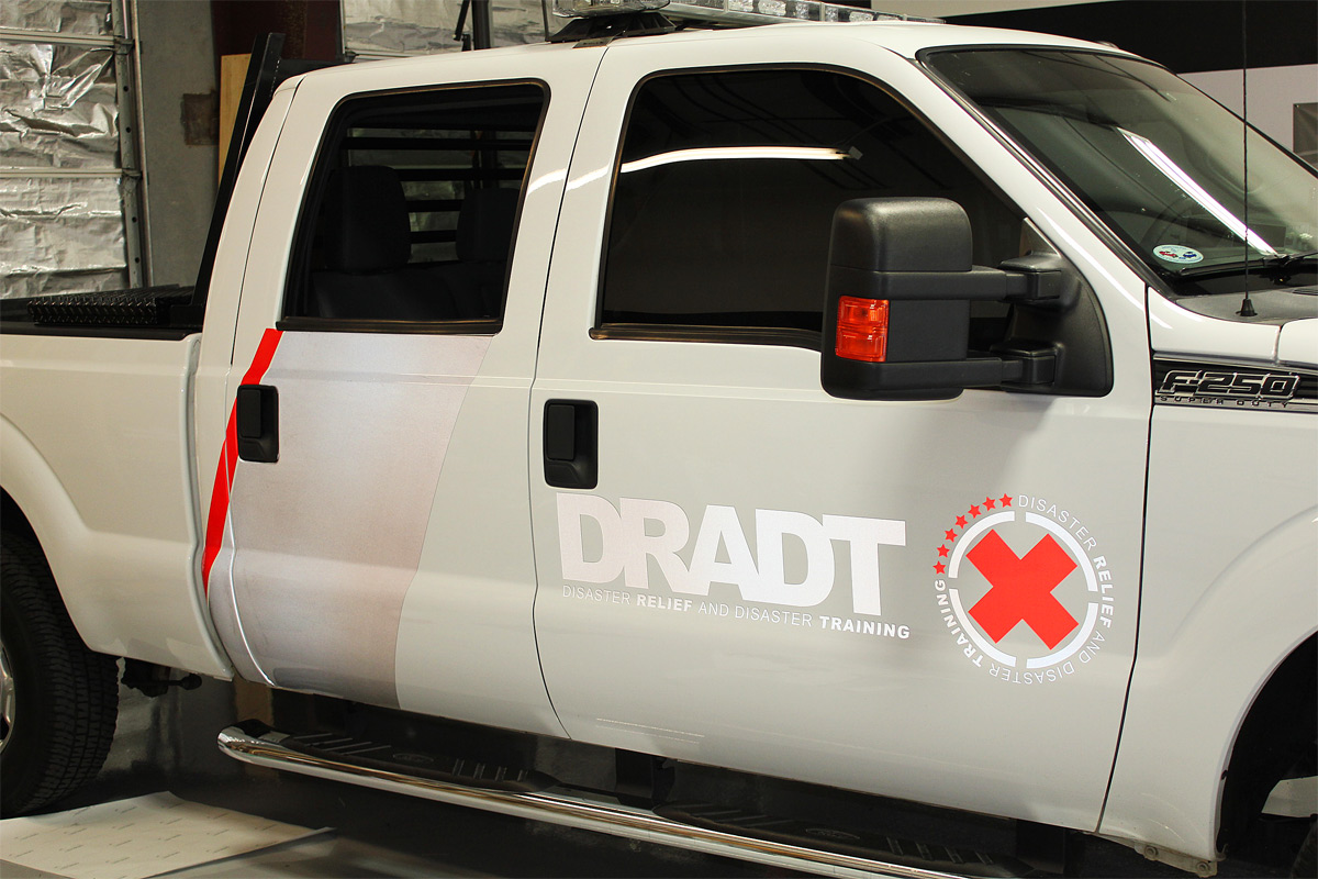 Reflective Truck Graphics Zilla Wraps