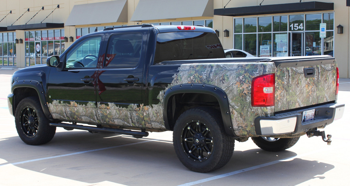 Graphics For Custom Truck Wraps Decals And Graphics Www - Camo custom vinyl decals for trucks