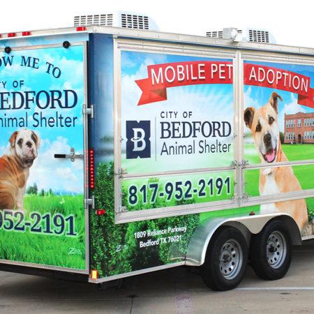 Trailer Wraps Bedford Animal