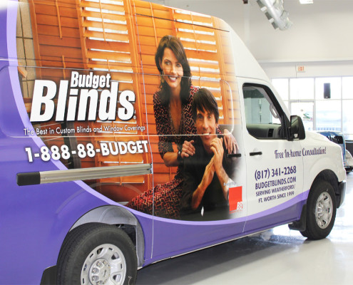 Van Wraps Fort Worth