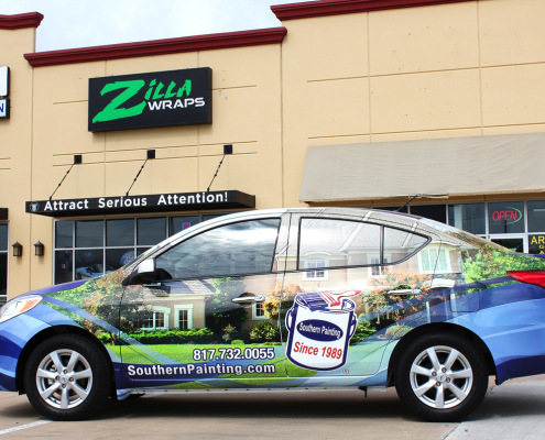Car Advertising Wraps