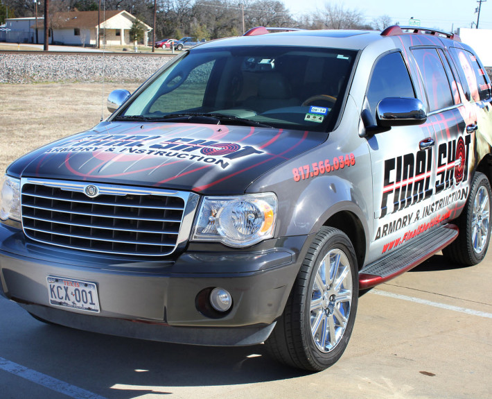 Suv Advertising Wrap Zilla Wraps