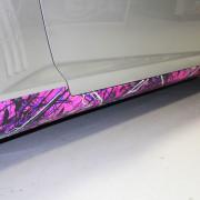 custom camo wrap