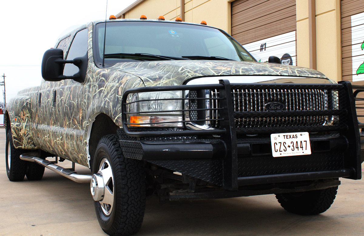 Camo Wraps Fort Worth Dallas