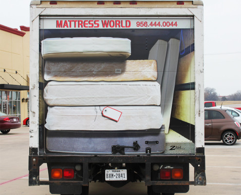 delivery box truck wrap