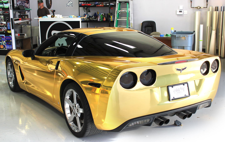 Gold Chrome Wrap Gold Chrome Wrap Fort Worth