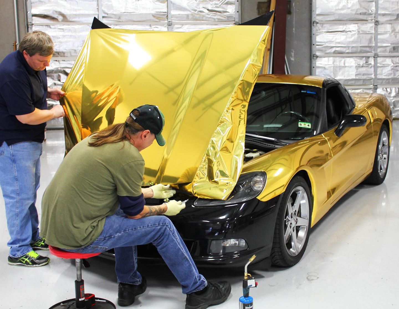 Gold Chrome Wrap Chrome Wrap Chrome Wrap