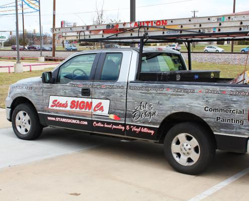 Partial Vehicle Wrap Dallas