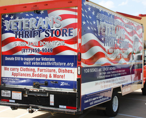 Box Truck Wrap Fort Worth