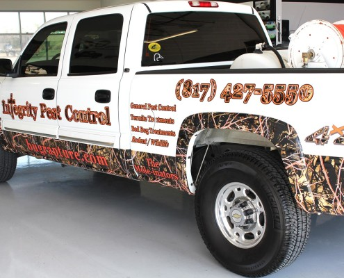 Camo Truck Wraps Dallas DFW