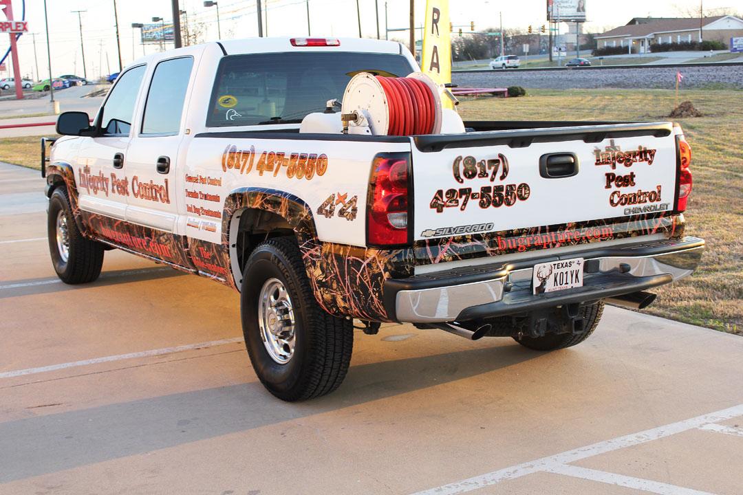 Camo Truck Wraps Dallas Dfw Zilla Wraps