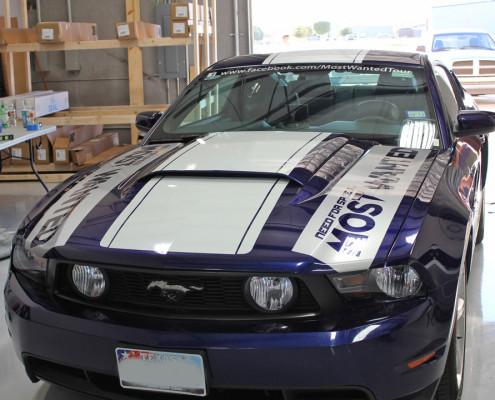 mustang racing stripe
