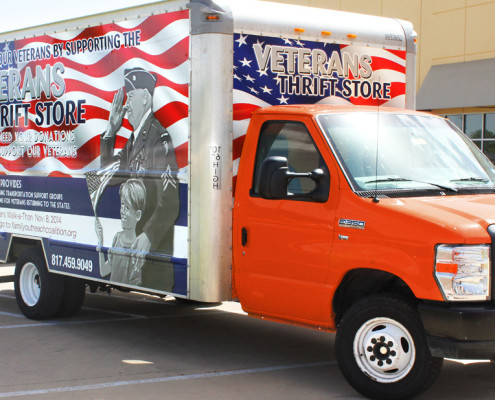 Fort Worth Box Truck Wraps