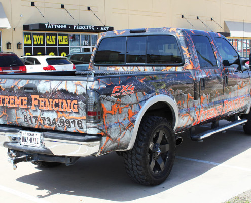 Truck Wraps Fort Worth TX