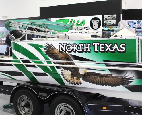 Boat Wrap Dallas TX