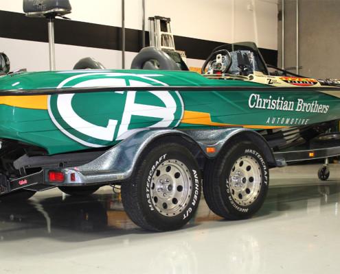 Boat Wrap Sponsor Tucker Owings