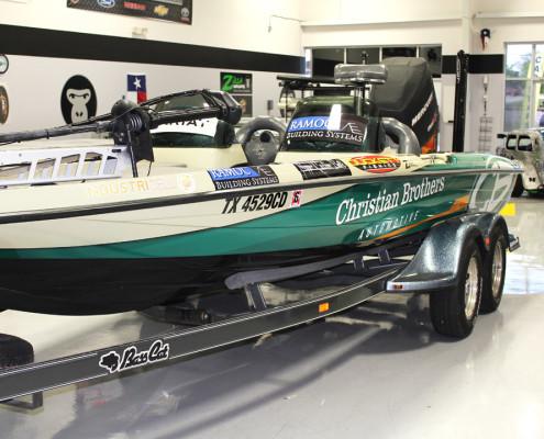 Fishing Boat Wraps Keller