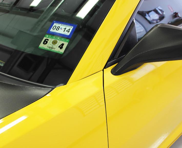 Camaro Carbon Fiber Wrap Zilla Wraps