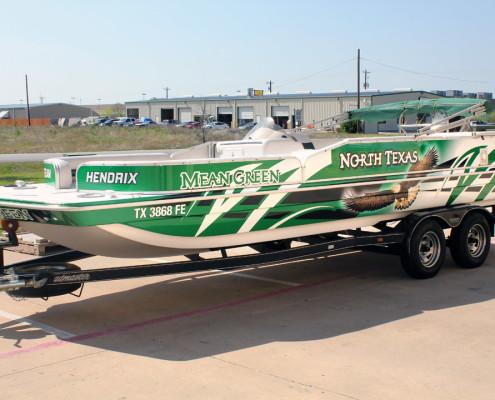 Dallas Boat Wrap