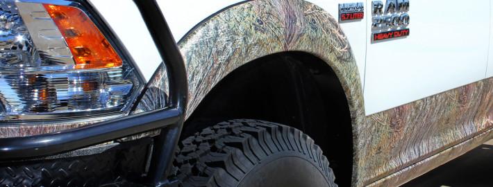Mossy Oak Truck Wrap