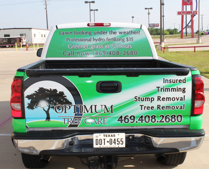 Truck Wrap Advertising Fort Worth Zilla Wraps