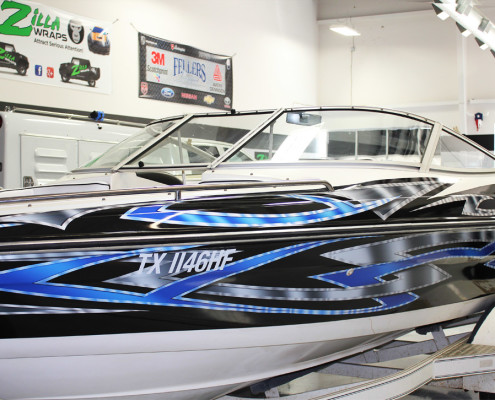 Boat Wraps Fort Worth