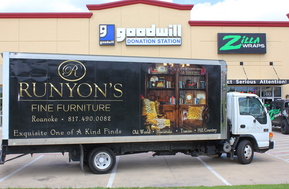 Box Truck Wrap Dallas