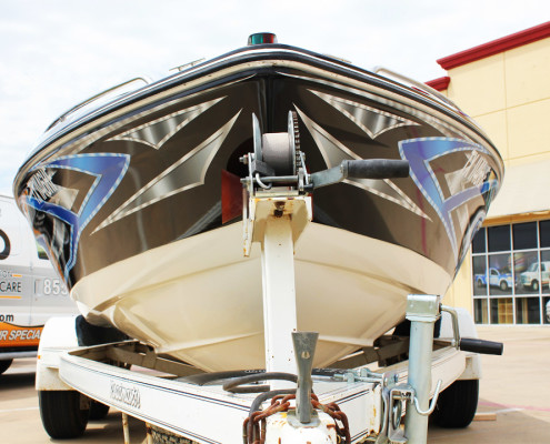 Fort Worth Boat Wraps Graphics