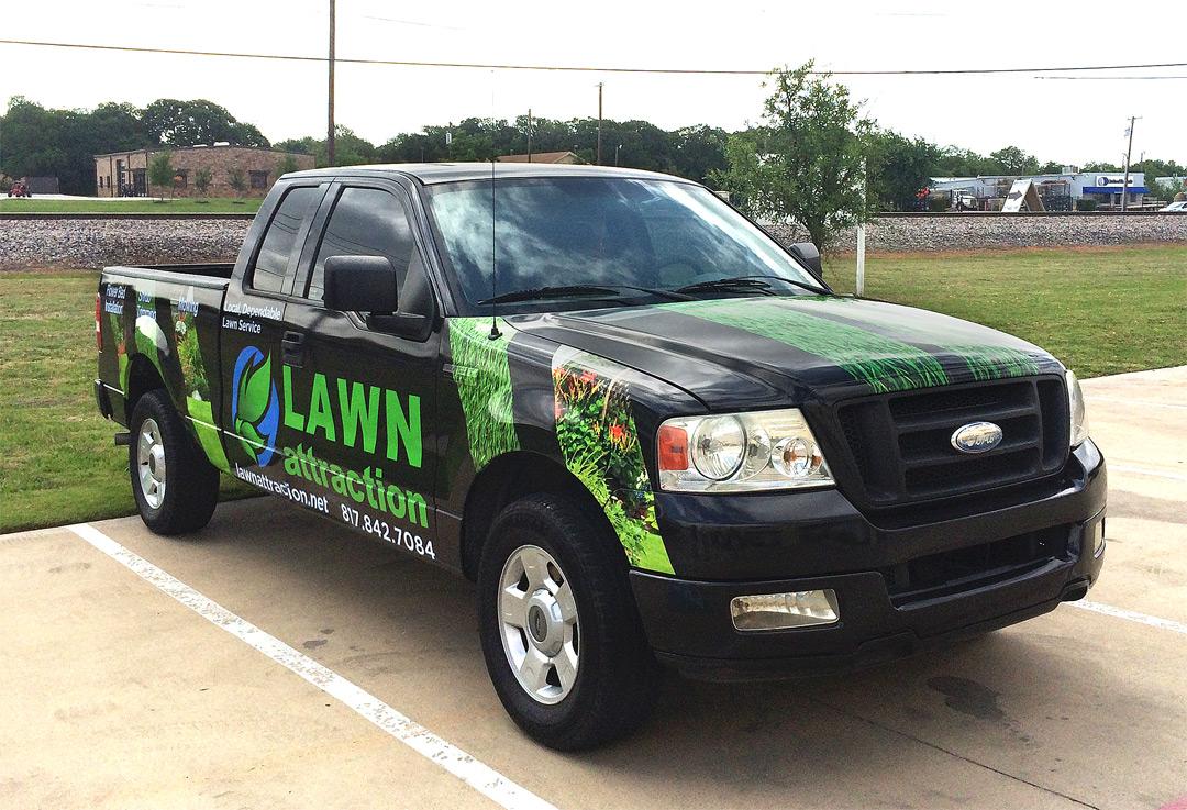 Lawn Service Truck Wrap Keller Zilla Wraps