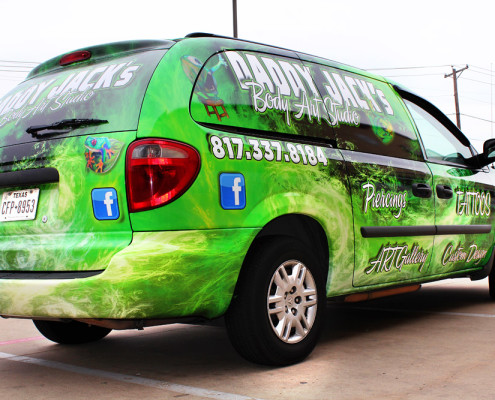 Mini Van Wrap dfw
