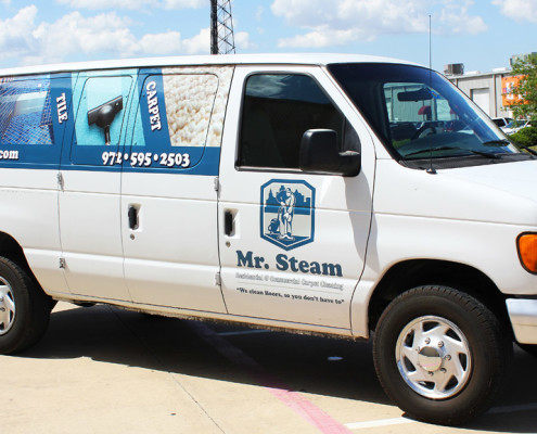 Partial Van Wraps Dallas