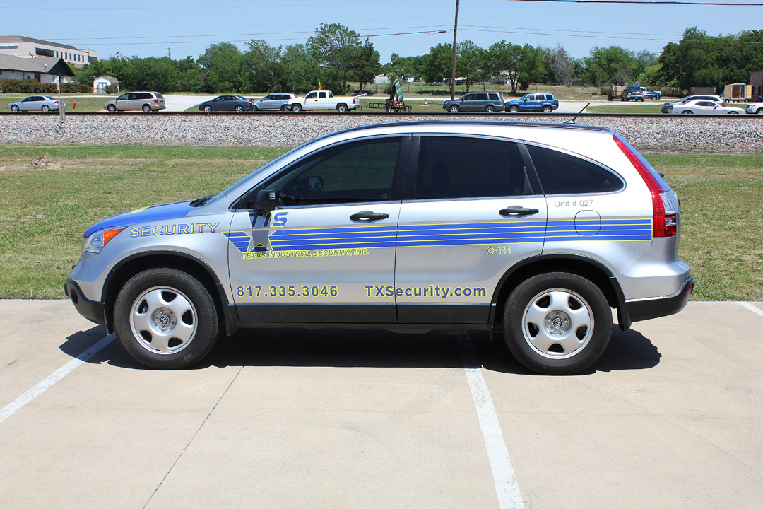 Security Car Graphics Fort Worth Zilla Wraps