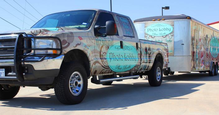 Pickup Truck Wrap DFW