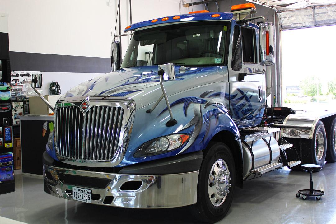 Semi Truck Wraps DFW - Zilla Wraps