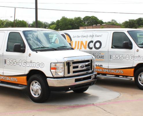 commercial-Service Van Wraps