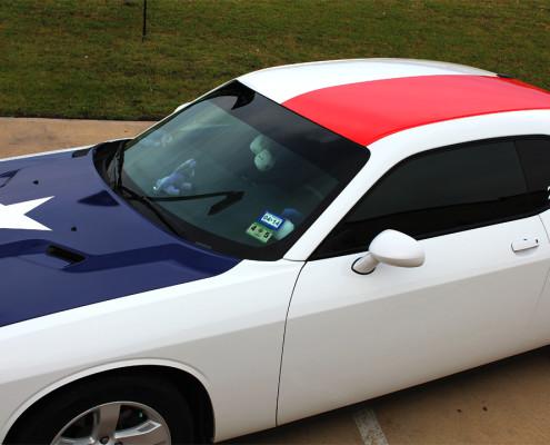 Texas Flag Car Wraps Graphics