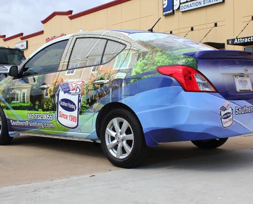 Blue Car Wraps
