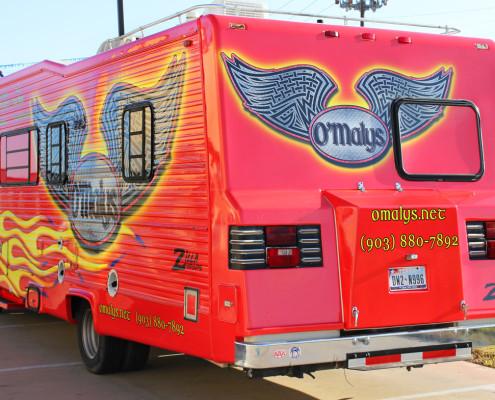 Concession Truck Wraps Dallas