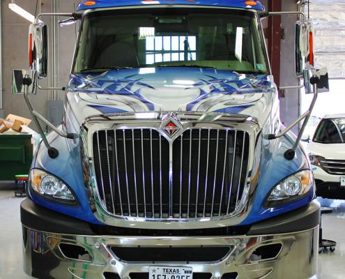 Dallas Semi Truck Wrap