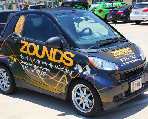Dallas Smart Car Wraps