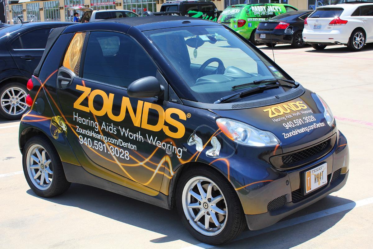 Smart Car Wraps Dfw Zilla Wraps