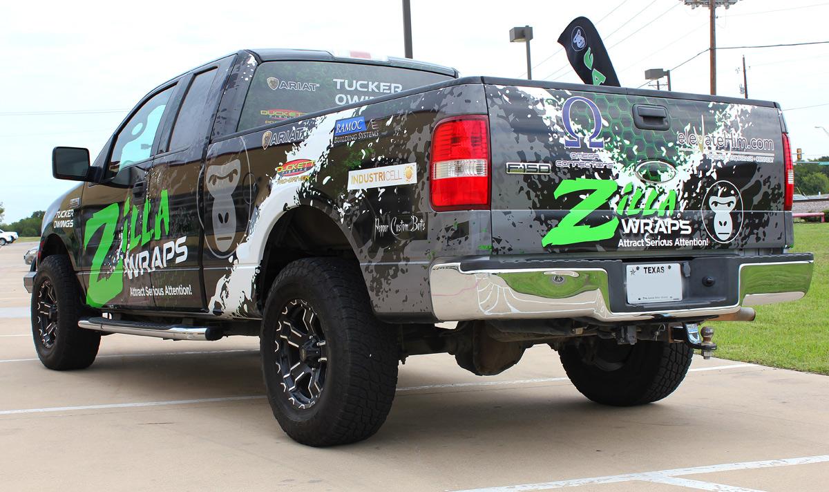 Tucker Owings Truck Wrap Zilla Wraps
