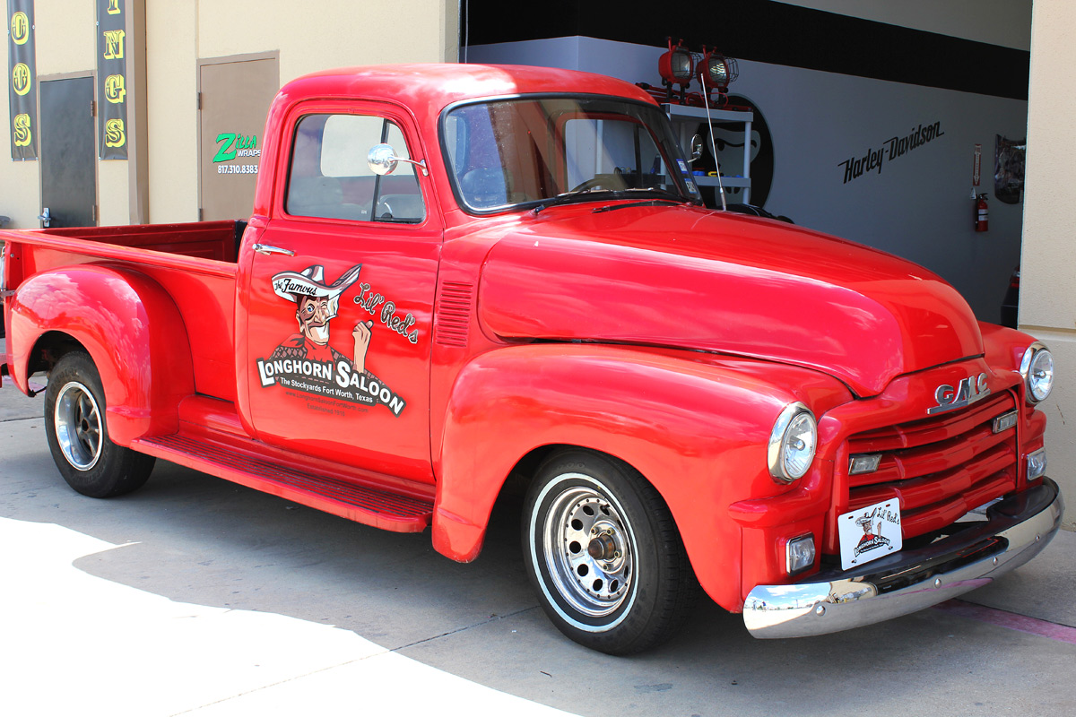 Fort Worth Truck Graphics 55 Chevy Zilla Wraps