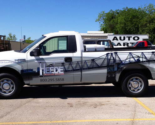 Fort Worth Truck Wrap
