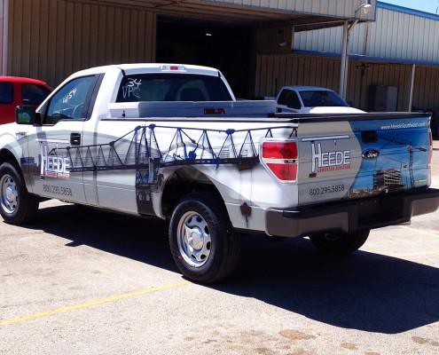 Ft Worth Truck Wrap
