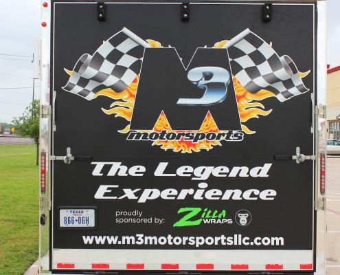 Legend Race Trailer Graphics